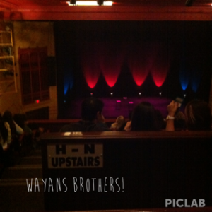 Wayans brothers Regal Theatre